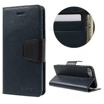 Image of   iphone 7/8 Goospery] SONATA DIARY CASE Wallet Card - Mørke Blå / under updatering